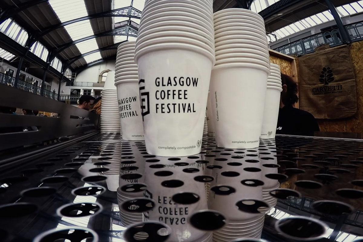 Glasgow Kahve Festivali'nde Kağıt Bardaklar Yasak