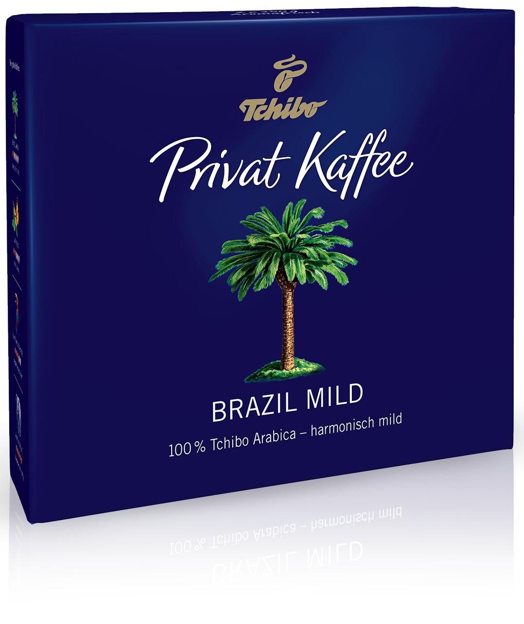 Tchibo - Tchibo Privat Kaffee Brazil Mild Öğütülmüş Filtre Kahve 2x250 G