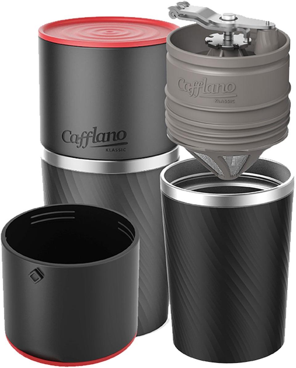 Cafflano - Cafflano Klassic Siyah Taşınabilir Kahve Makinesi