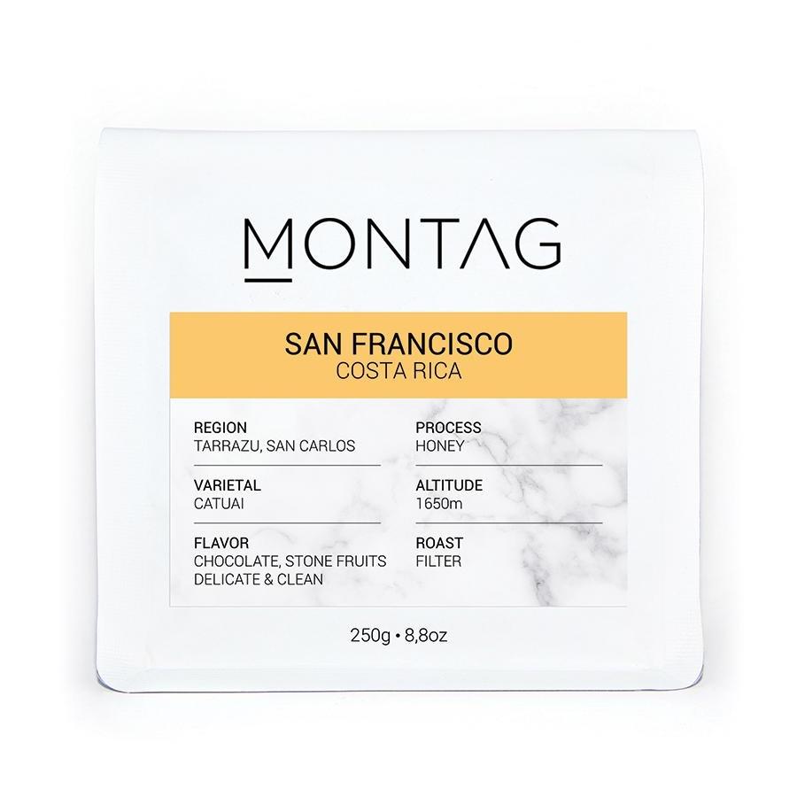 Montag - Montag Costa Rica San Francisco Kahve 1000 G
