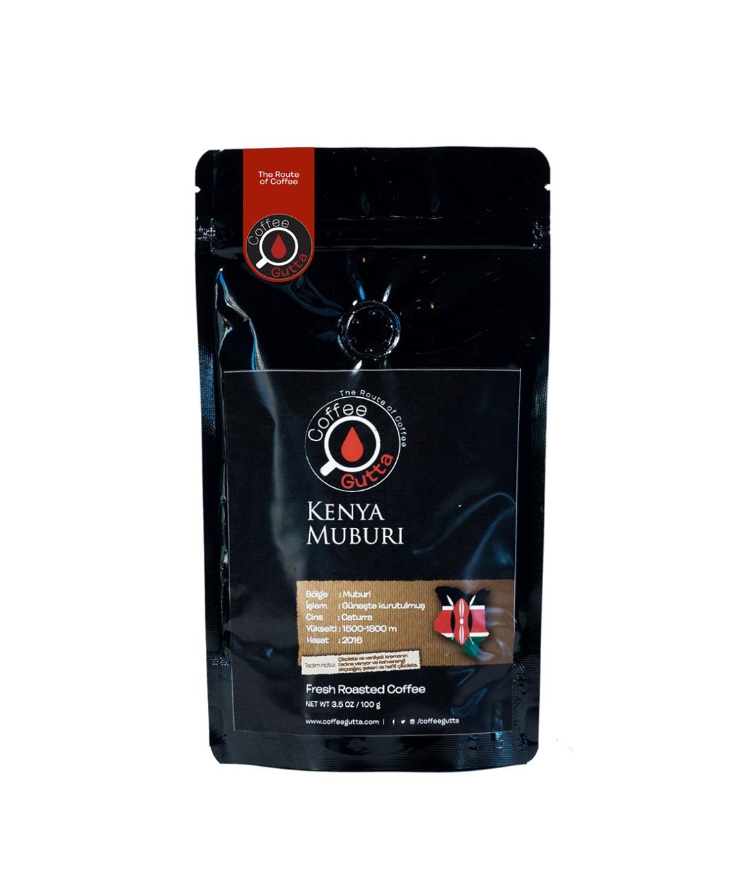 Coffee Gutta Kenya Muburi Kahve 100 G