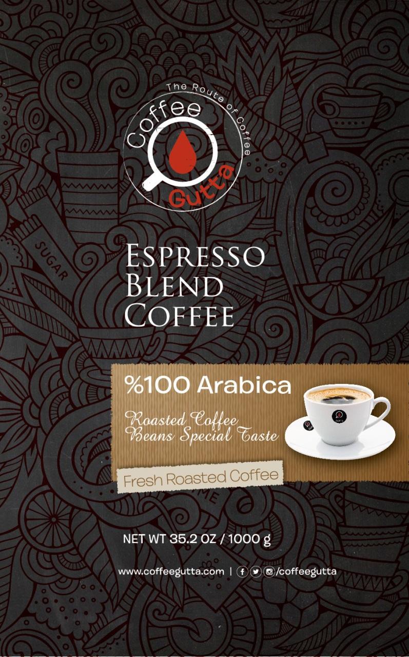 Coffee Gutta Espresso Blend Kahve 1000 G
