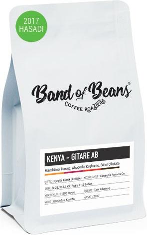 Band of Beans - Band of Beans Kenya Gitare Kahve 250 G