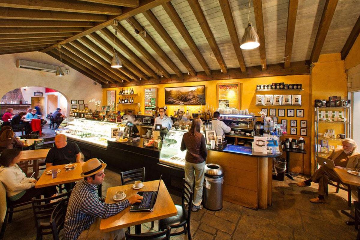 Silikon Vadisi'nin Kalbindeki Kafe