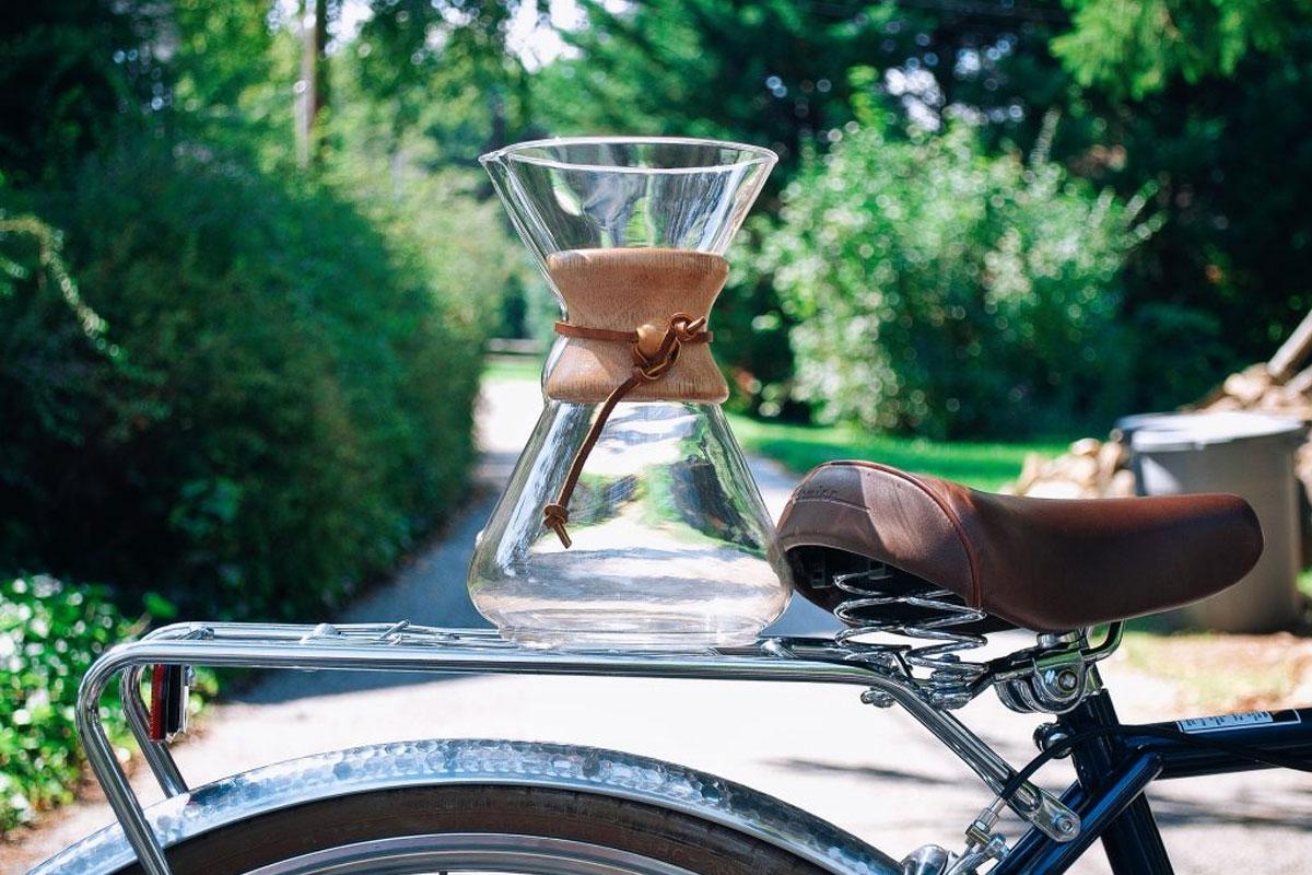 KKTC'de Lavazza Kahveler Bisikletle Dağıtılacak