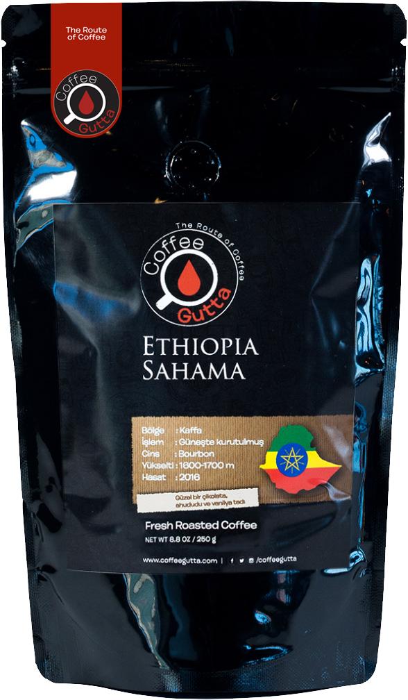 Coffee Gutta - Coffee Gutta Ethiopia Sahama Kahve 250 G
