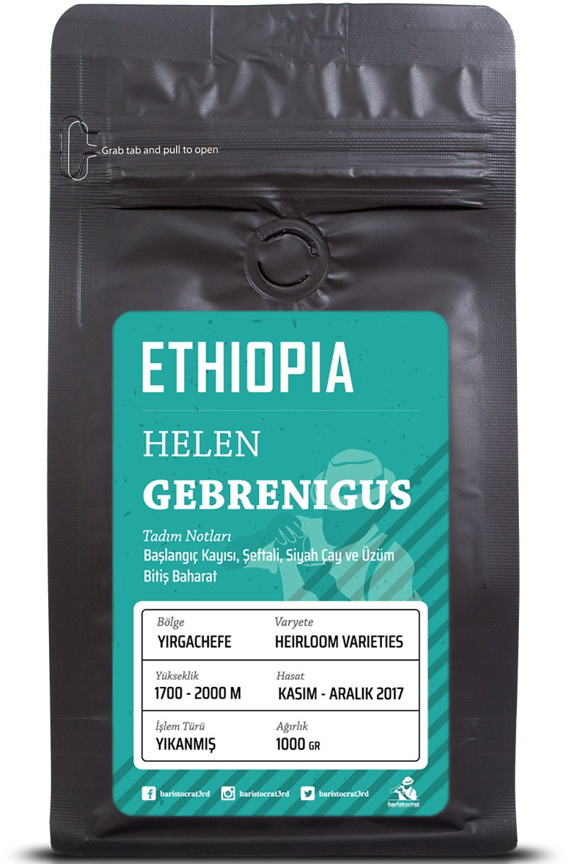 Baristocrat - Baristocrat Ethiopia Helen Gebrenigus Kahve 250 G