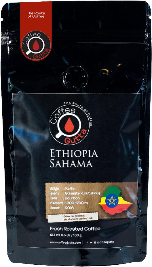 Coffee Gutta - Coffee Gutta Ethiopia Sahama Kahve 100 G