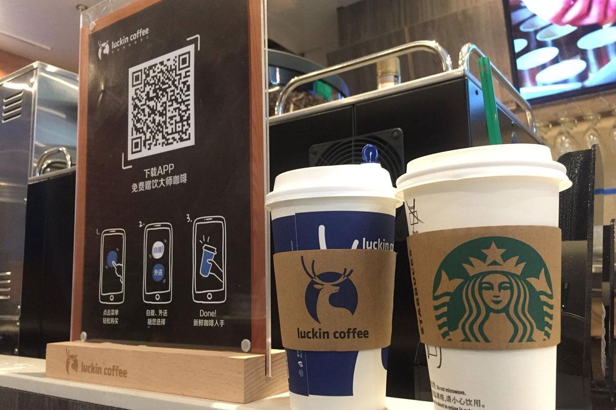 Çinli Kahve Zinciri 2019'da Starbucks'ı Geçmeyi Hedefliyor