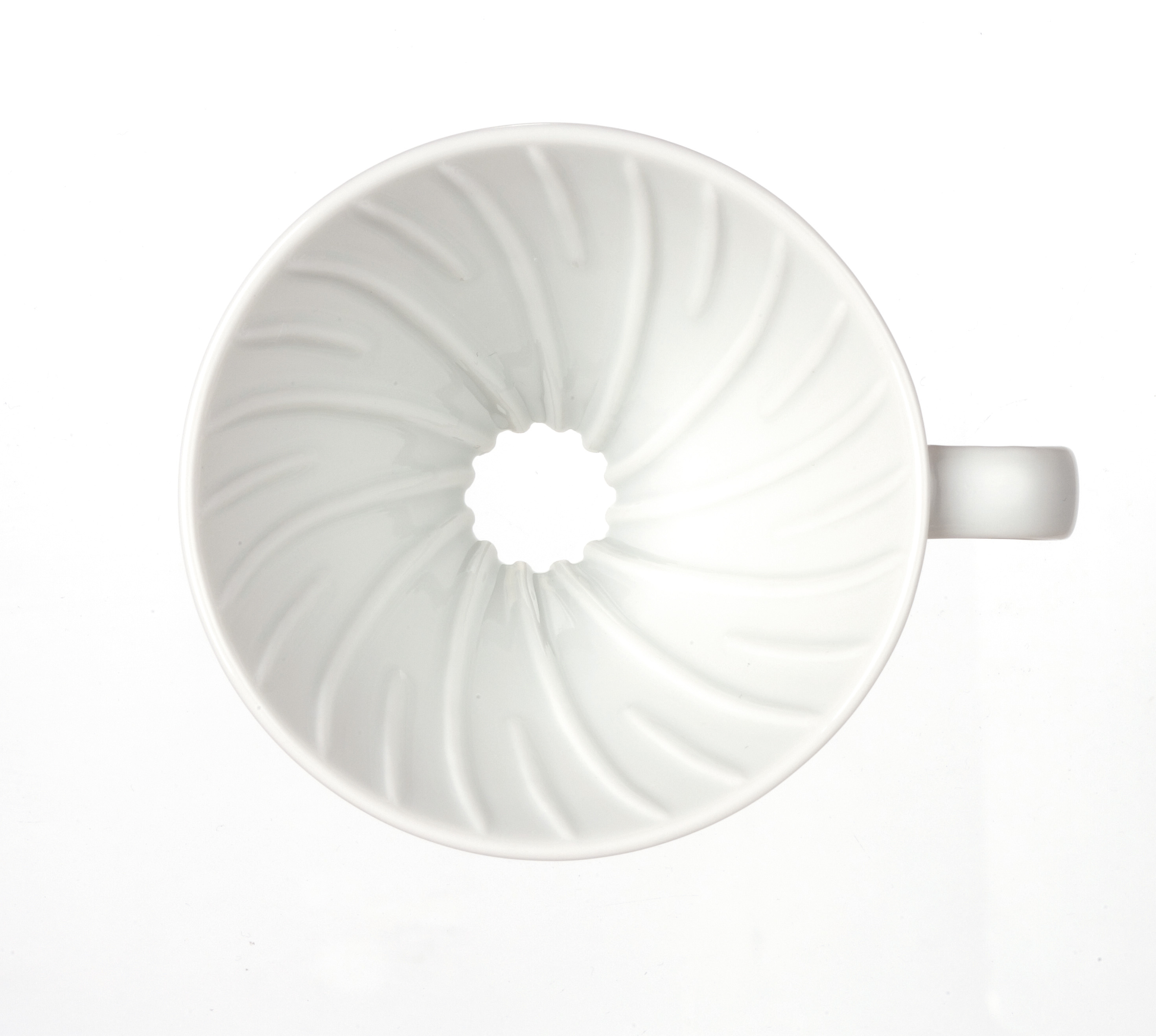 Hario V60 01 Beyaz Seramik Dripper