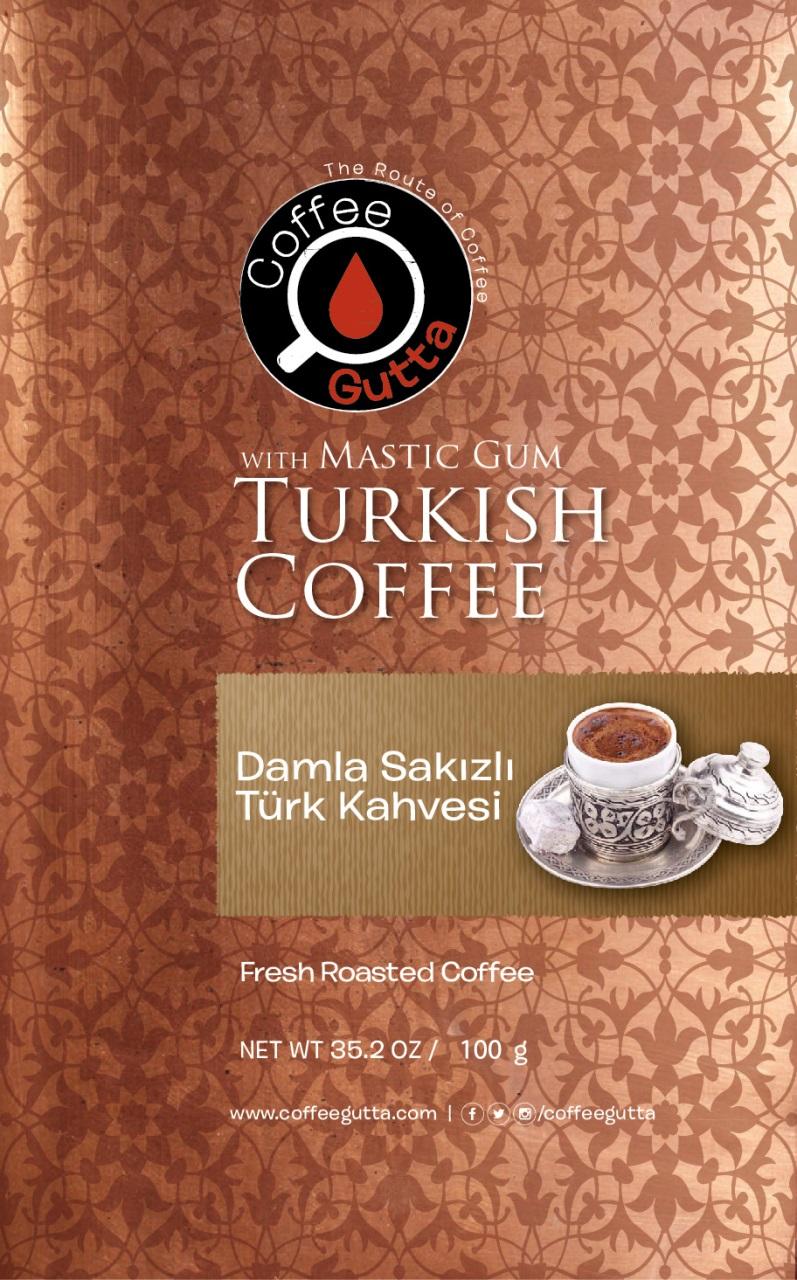 Coffee Gutta Damla Sakızlı Türk Kahvesi 100 G