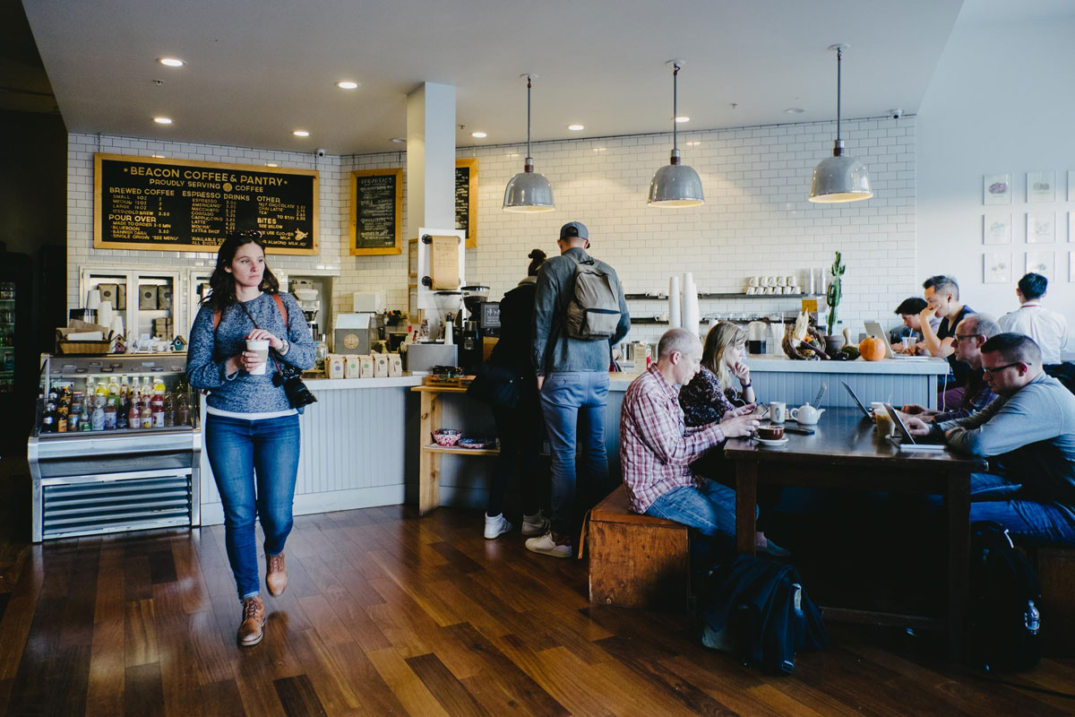San Francisco'da Bir Kahve Cenneti: Beacon Coffee & Pantry