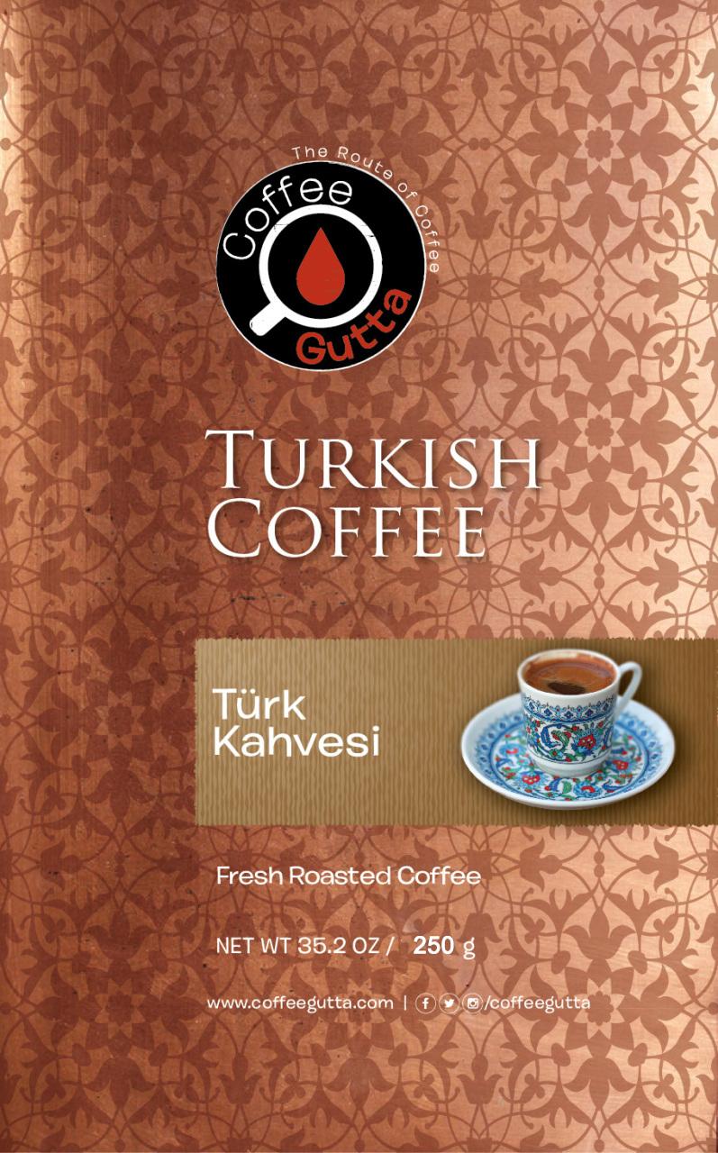 Coffee Gutta Klasik Türk Kahvesi 250 G