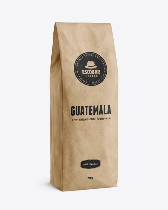 Escobar Coffee - Escobar Coffee Guatemala Finca El Guachipilin Kahve 250 G