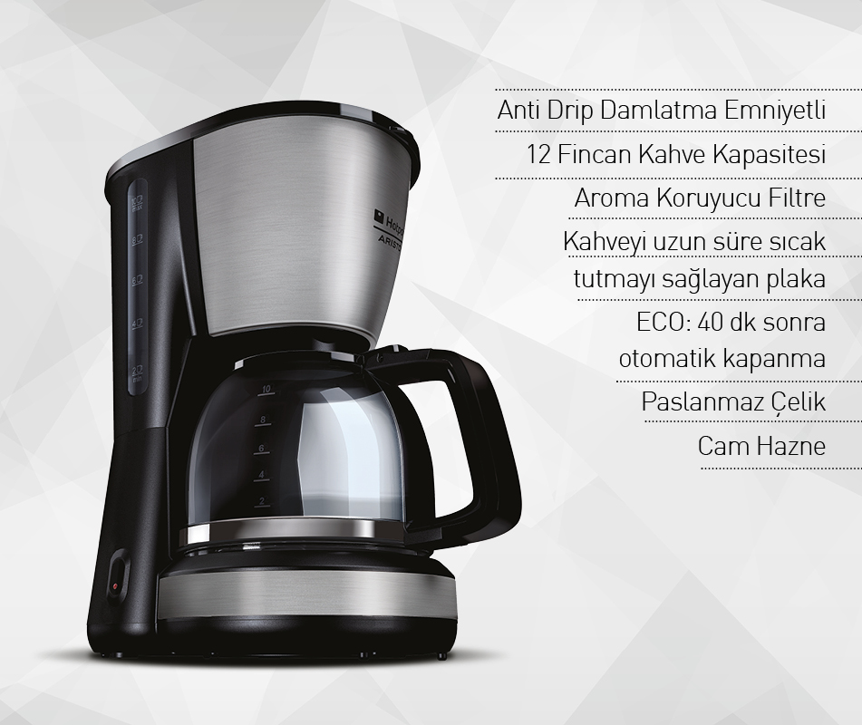 Hotpoint Ariston CM TDC DXB0 Filtre Kahve Makinesi