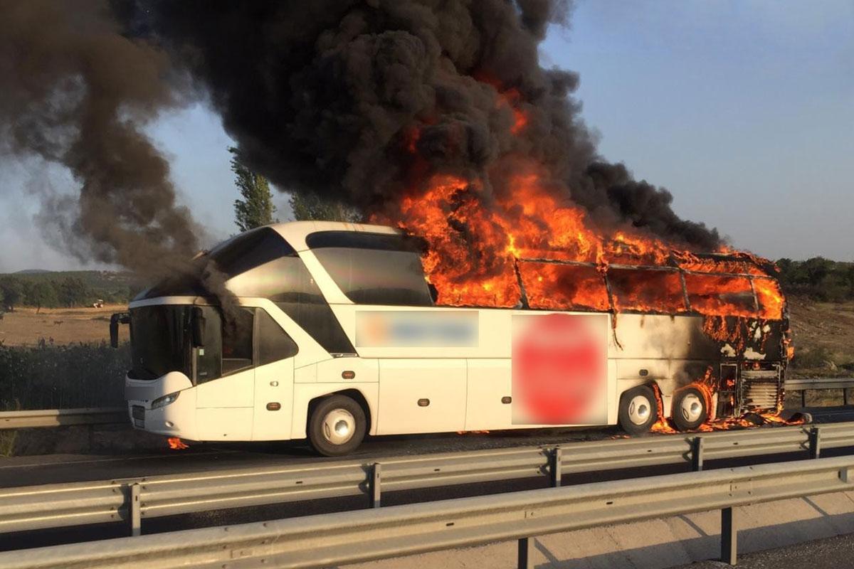 Otobüs Yangınlarının Nedeni Kahve Makineleri ve Su Isıtıcıları mı?