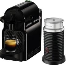 Nespresso - Nespresso Inissia Siyah Kapsüllü Kahve Makinesi & Aeroccino3