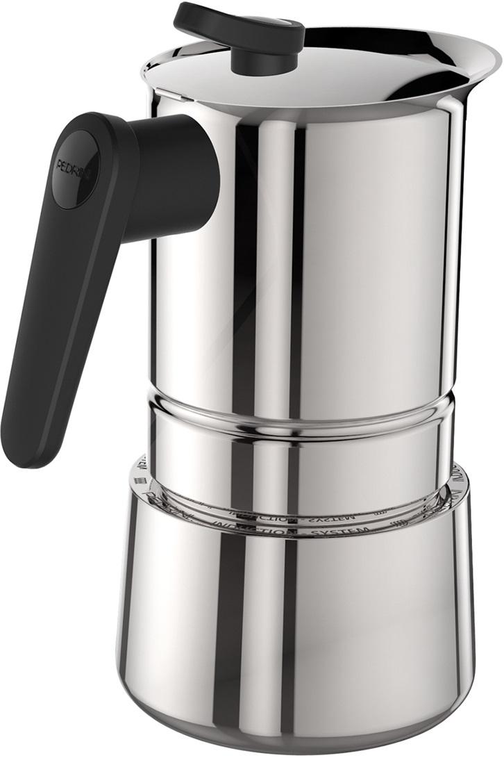 Pedrini - Pedrini Caffet-Acciaio 4 Cup Moka Pot
