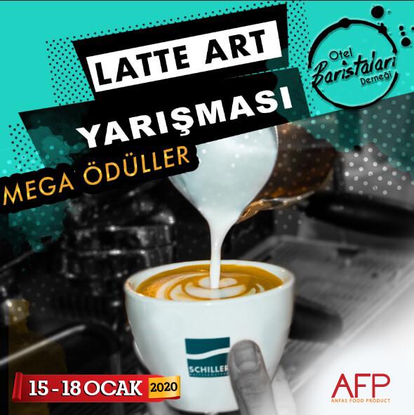 Otel Baristaları Latte Art Yarışmasında Hünerlerini Sergileyecek