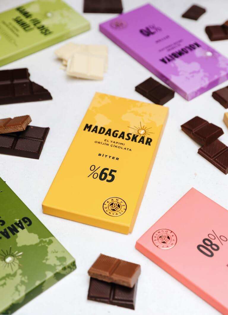 Kahve Dünyası'ndan Özel Çikolata Serisi