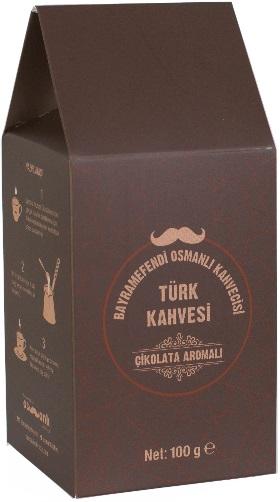 Bayramefendi Osmanlı Kahvecisi - Bayramefendi Osmanlı Kahvecisi Çikolatalı Türk Kahvesi 100 G