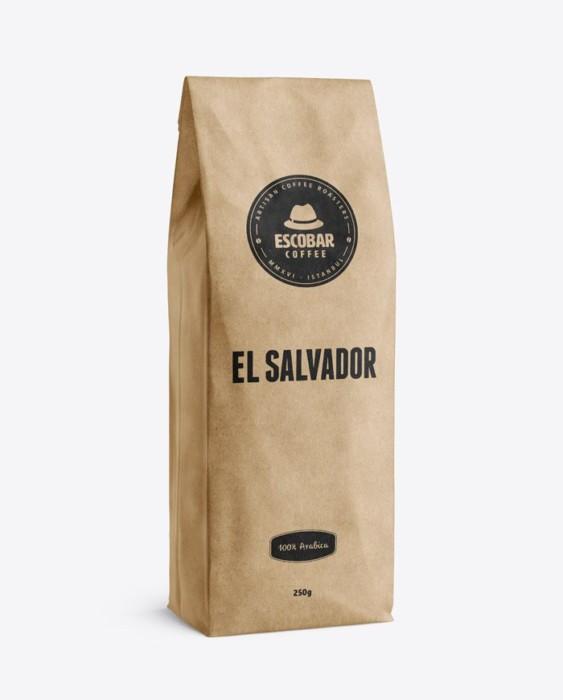 Escobar Coffee El Salvador Finca El Derrumbo Kahve 250 G