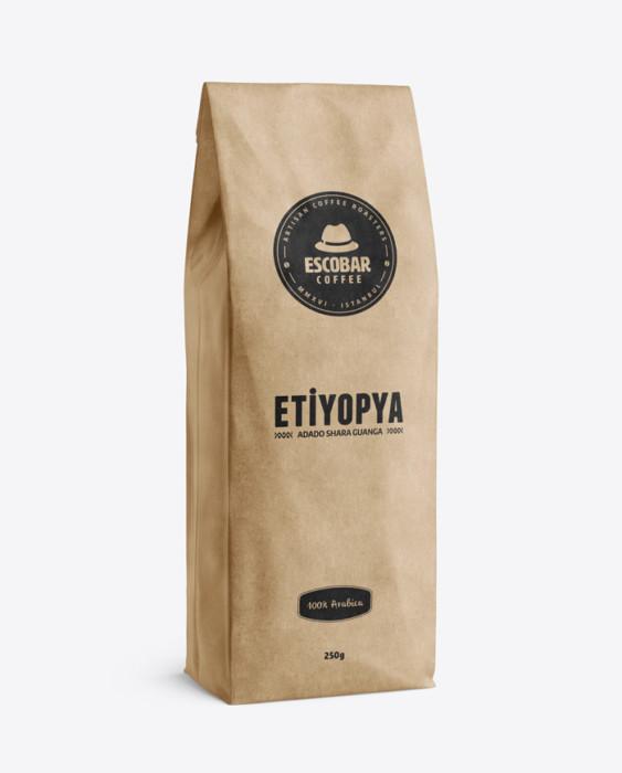 Escobar Coffee - Escobar Coffee Etiyopya Adado Shara Guanga Kahve 500 G