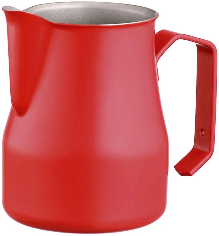 Motta - Motta Profesyonel Süt Sürahisi Kırmızı 0.35 L