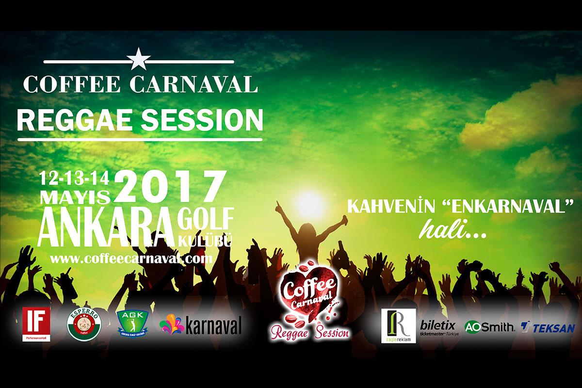 Coffee Carnaval Bu Kez Reggae Session ile Geliyor