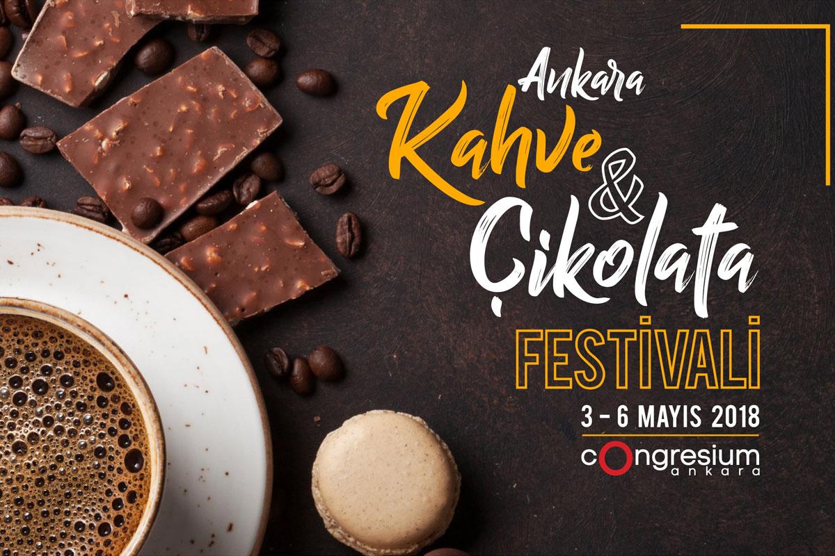 Ankara Kahve&Çikolata Festivali'ne Ziyaretçi Akını
