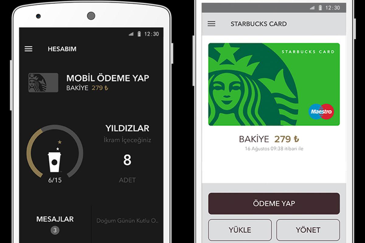 Starbucks Mobil Uygulaması 3 Ayda 200 bini Aştı