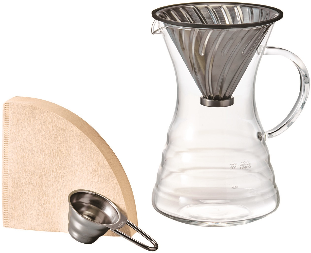 Hario - Hario V60 VPD-02HSV Pour Over Kahve Demleme Seti