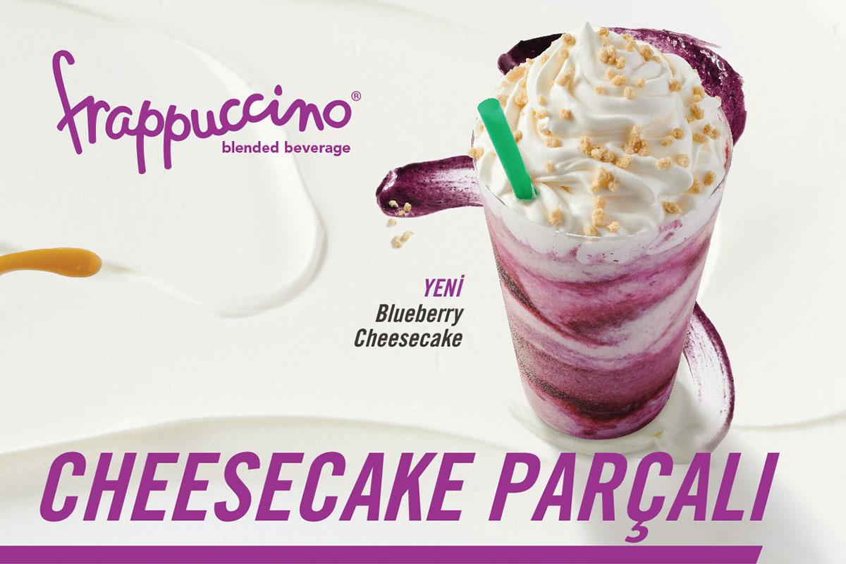 Starbucks Frappuccino'ya Cheesecake Dokunuşu