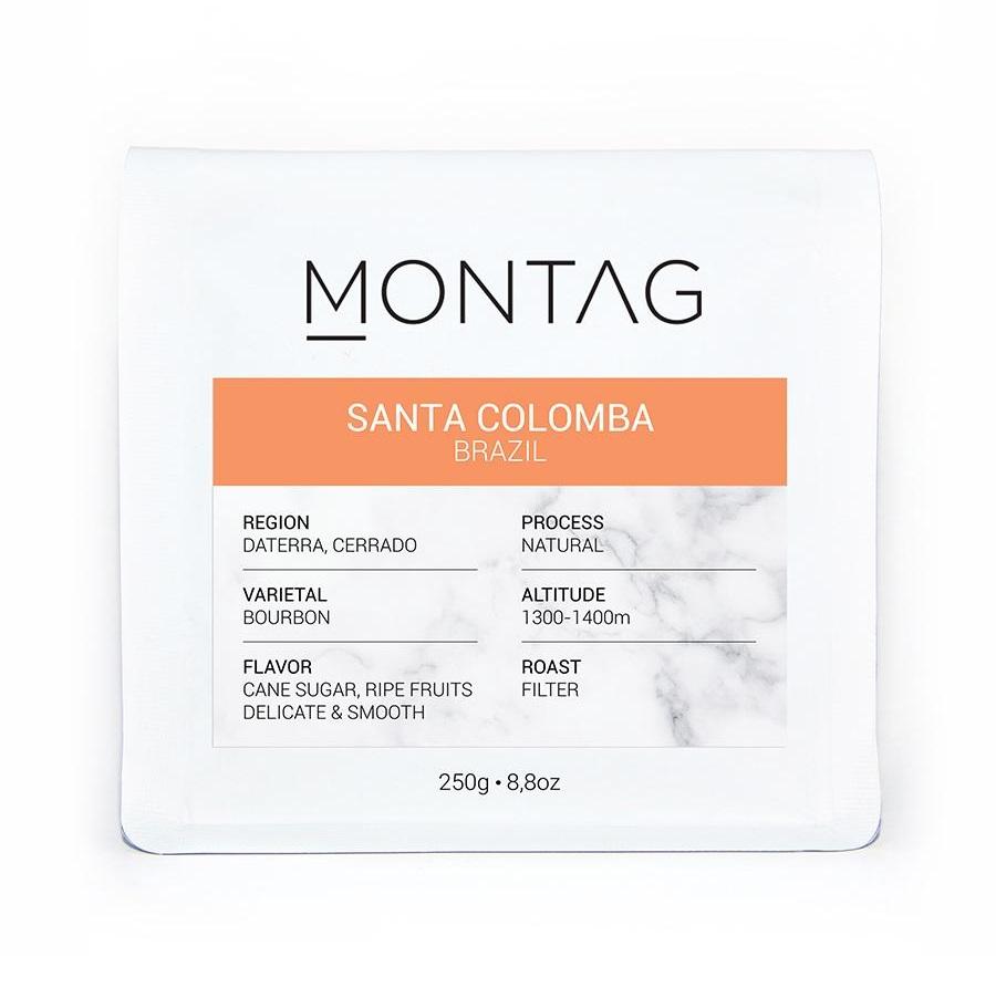 Montag - Montag Brazil Santa Colomba Kahve 1000 G