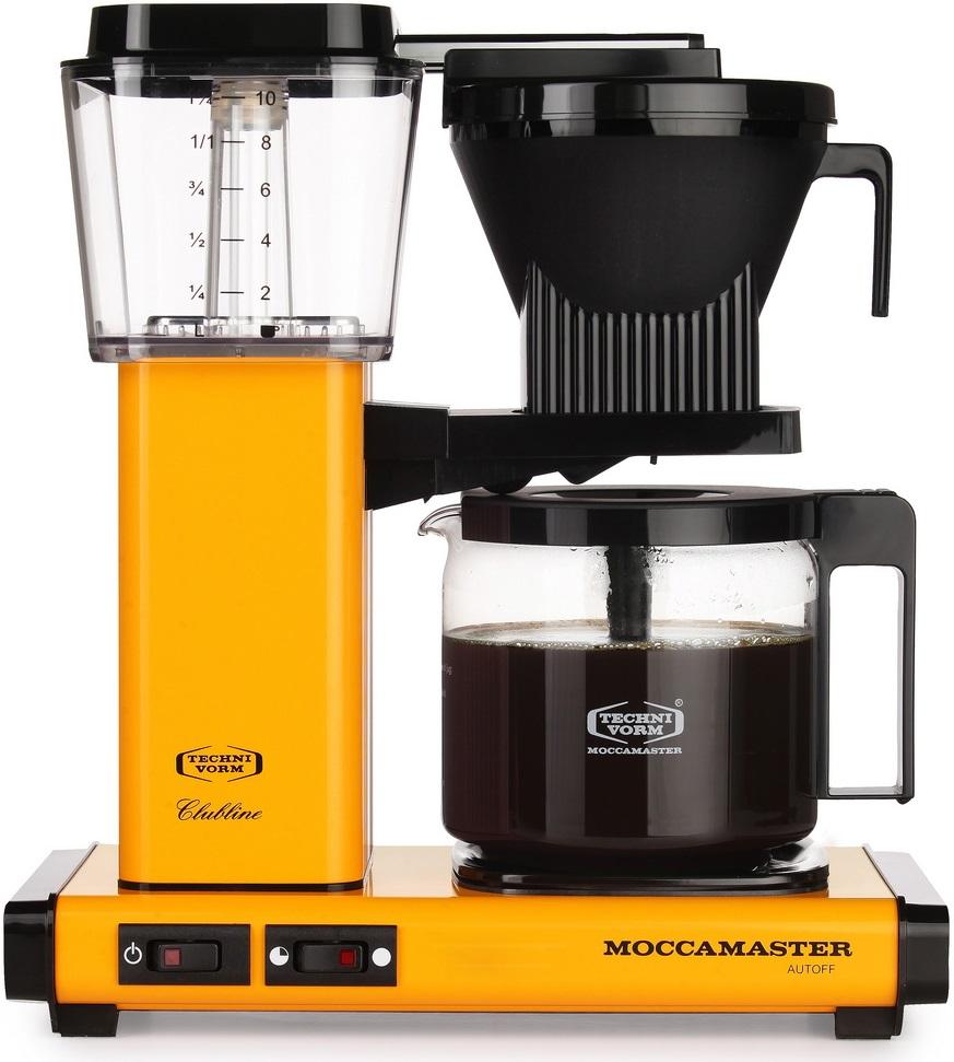 Moccamaster - Moccamaster KBG 741 AO Filtre Kahve Makinesi Yellow Pepper
