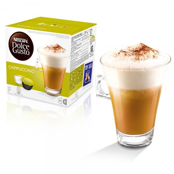 Nescafe Dolce Gusto - Nescafe Dolce Gusto Cappuccino Kapsül Kahve 16 Adet