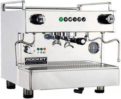 Rocket - Rocket Boxer Shot Timer 1 Grup Espresso Makinesi Paslanmaz Çelik