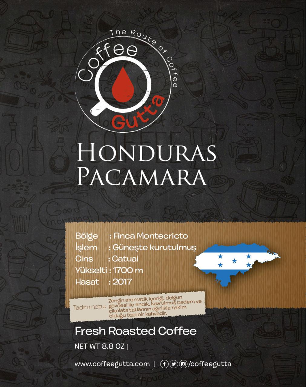 Coffee Gutta - Coffee Gutta Honduras Pacamara Kahve 1000 G