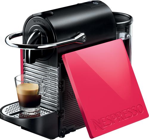 Nespresso - Nespresso Pixie Clips Kırmızı Kapsüllü Kahve Makinesi