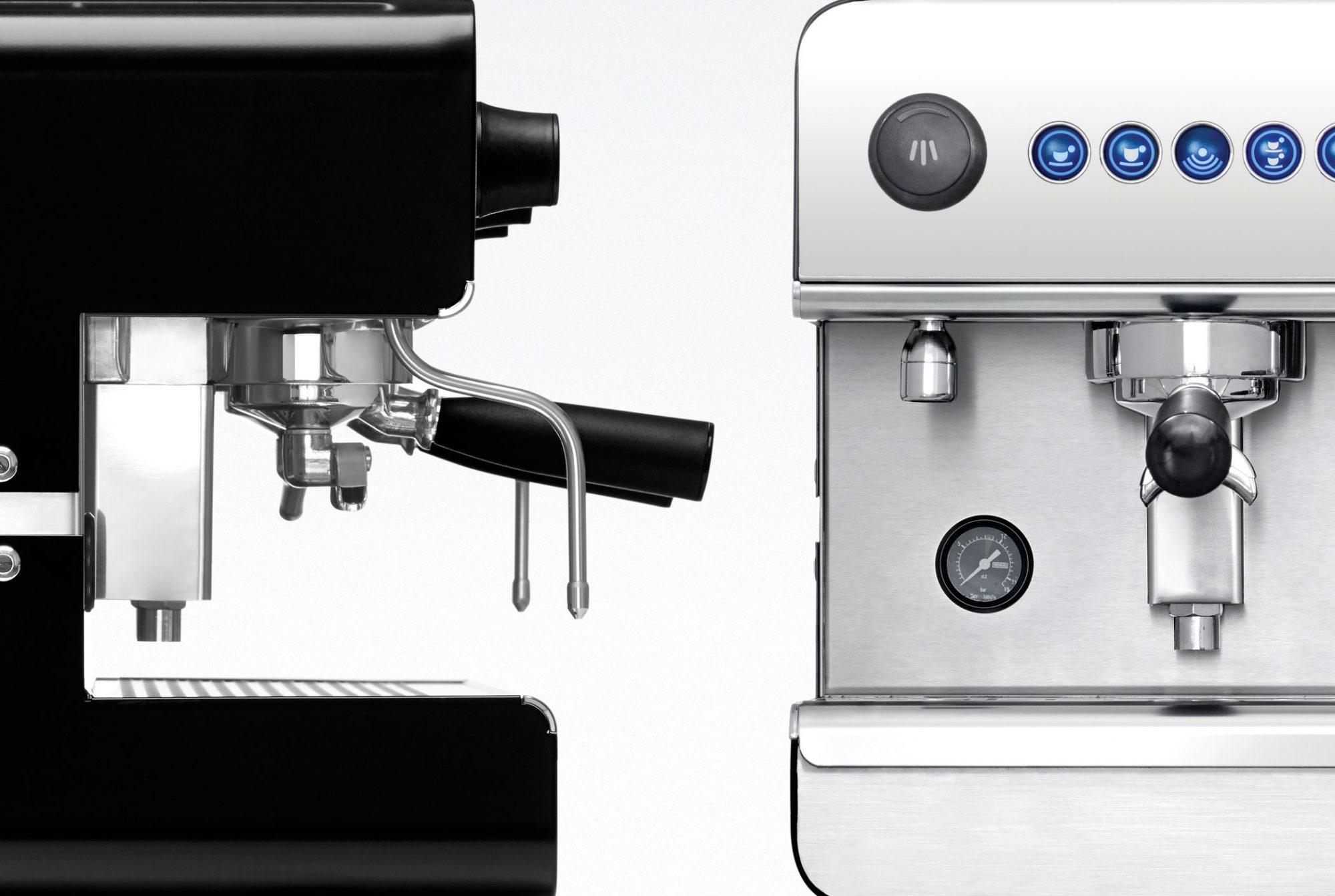 Iberital IB7 1 Grup Espresso Makinesi Siyah
