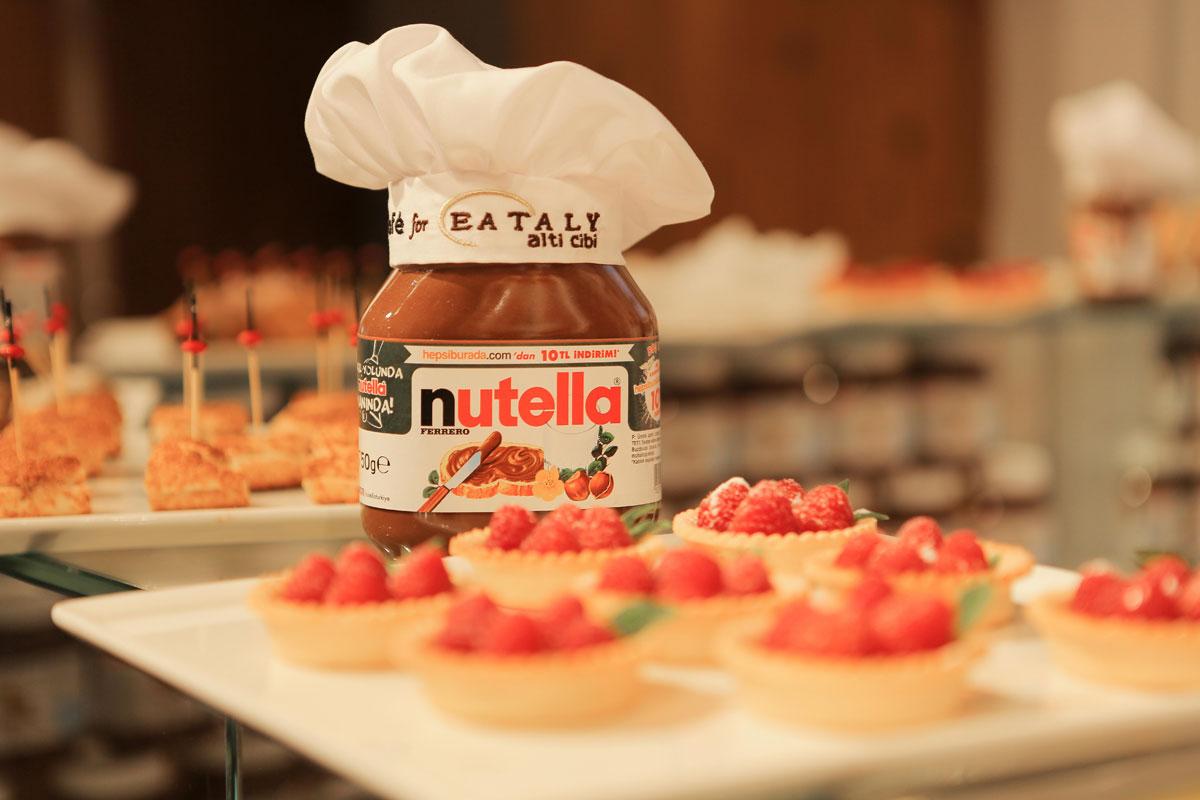 Eataly Bünyesindeki Nutella Kafeyi Ziyaret Ettiniz mi?