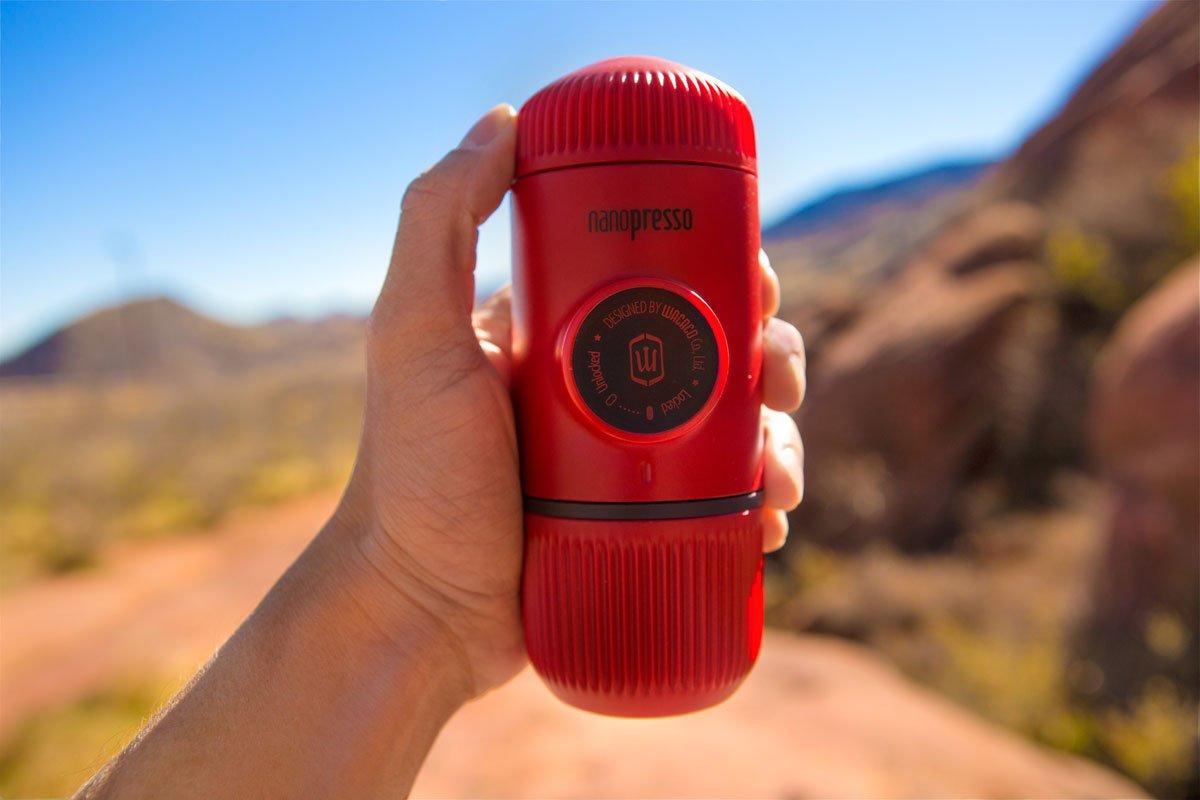 Wacaco Nanopresso Red Patrol Taşınabilir Kahve Makinesi