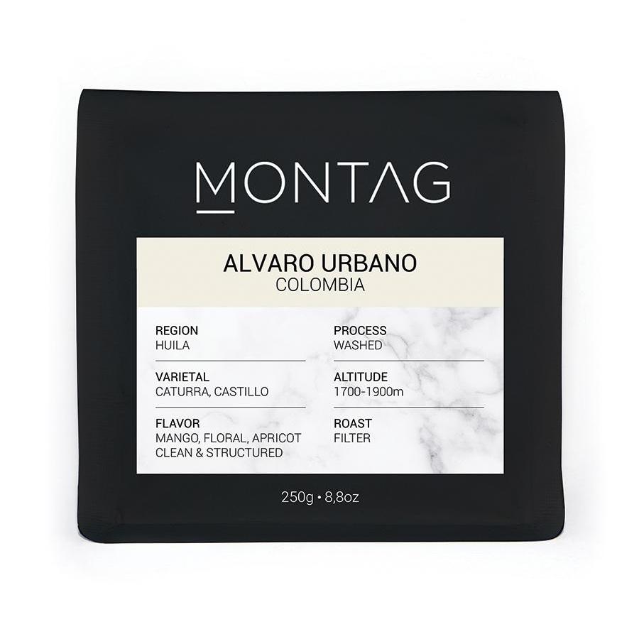 Montag - Montag Colombia Alvaro Urbano Kahve 250 G