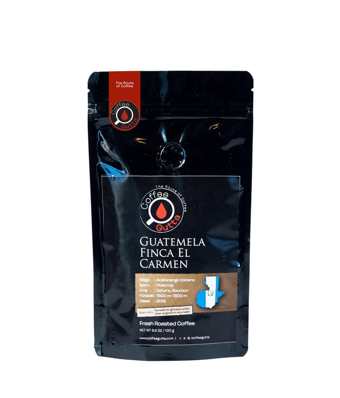 Coffee Gutta Guatemela Finca El Carmen Kahve 100 G