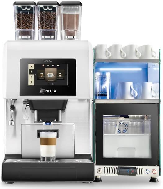 Necta - Necta Kalea Espresso + Fresh Brew Fresh Milk Tam Otomatik Kahve Makinesi