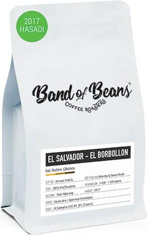 Band of Beans - Band of Beans El Salvador El Borbollon Kahve 1000 G