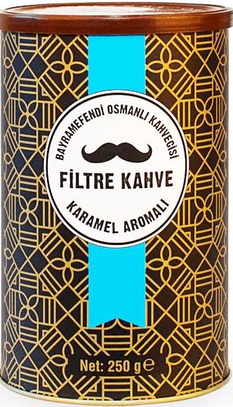 Bayramefendi Osmanlı Kahvecisi - Bayramefendi Osmanlı Kahvecisi Karamelli Filtre Kahve 250 G