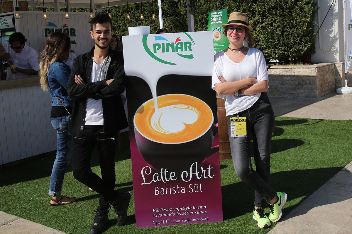 Pınar Latte Art Barista Süt, Beklentilerin Ötesinde Bir İlgiyle Karşılanıyor