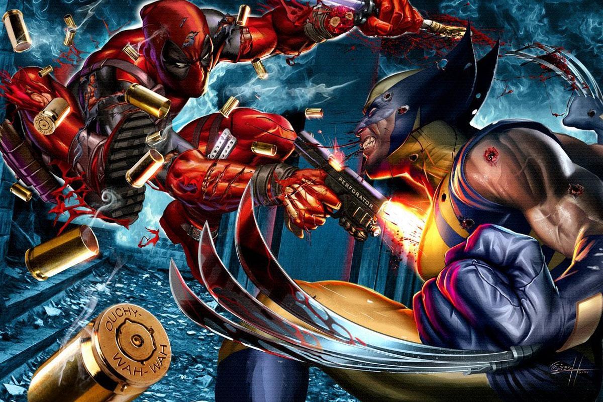 Wolverine'in Kafesinde Çalışan Barista Deadpool