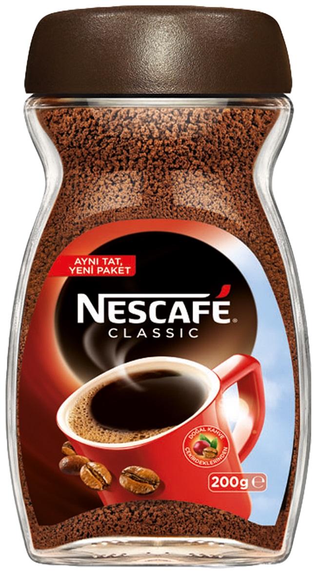 Nescafe - Nescafe Classic Çözünebilir Kahve Kavanoz 200 G